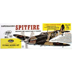 Guillows Supermarine Spitfire Laser Cut Model Kit