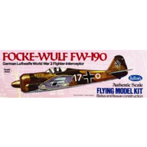 Guillows Focke-Wulf 190 Model Kit
