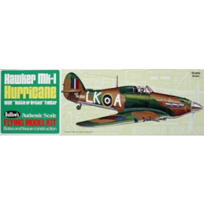 Guillows Hawker MK-1 Hurricane Model Kit