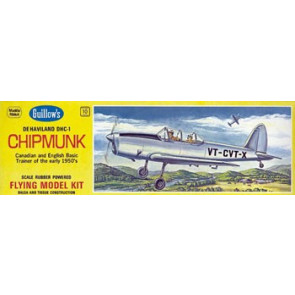 Guillows DeHavilland Chipmunk Model Kit