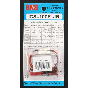 GWSM2058 GWS SPEED CONTROL W/JR PLUG (100E)