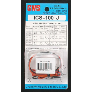 GWS SPEED CONTROL W/JR PLUG (100J)