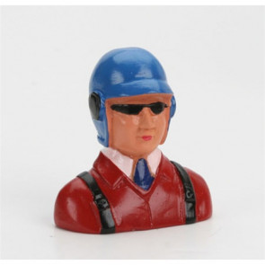 HANGER 9 1/9 Pilot, with Helmet, Glasses & Tie