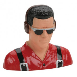 HANGER 9 1/5 Pilot, Civilian, w/Headphones & Sunglasses (Red)
