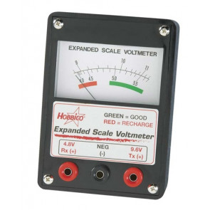 Hobbico Expanded Scale Voltmeter
