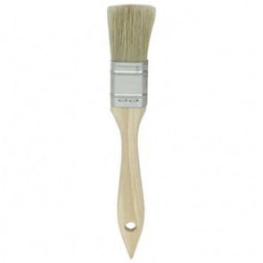 "Graves RC Hobbies 1"" INDUSTRIAL GRADE CHIP BRUSH, NATURAL BRISTLES"