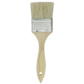 "Graves RC Hobbies 2"" INDUSTRIAL GRADE CHIP BRUSH, NATURAL BRISTLES"
