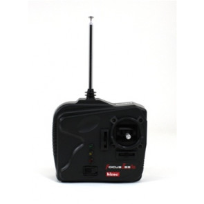 HITEC FOCUS 2CH SHREDDER RADIO WITH (2) HS-50
