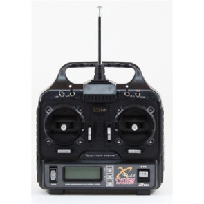 HITEC FLASH 5CH TRANSMITTER WITH (4) HS-422