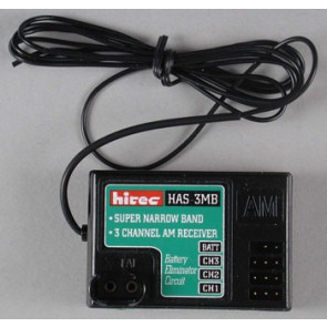 HITEC 3-Channel 72mHz Receiver HAS-3MB AM