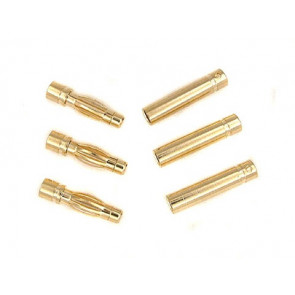 INNOV8TIVE GOLD PLATED 4mm Bullet Connectors
