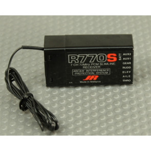 JR R770S 7ch Receiver 72MHz
