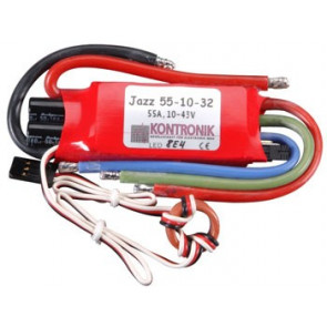 KONM3130 KONTRONIK JAZZ 55-10-32 BRUSHLESS ESC 55A