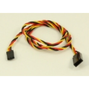 """GRAVES RC HOBBIES JR Extension 24"""" Twisted 22 AWG"""