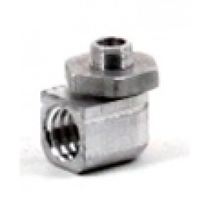 MAC'S MUFFLER 90° Adapter with Lock Nut