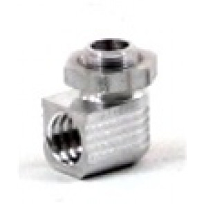 MAC'S MUFFLERS 90° Adapter with Lock Nut