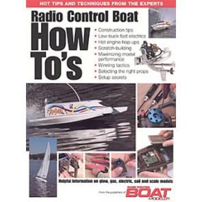 MAN3004 MODEL AIRPLANE NEWS R/C Boat How To's