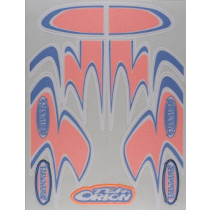 ORI59206 ORION RACING SPEEDSTREAKS ORANGE MICRO