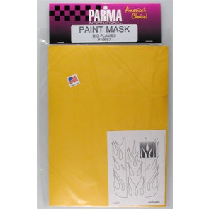 PAR10667 PARMA BIG FLAMES PAINT MASK