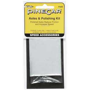 PineCar Axle & Polishing Kit