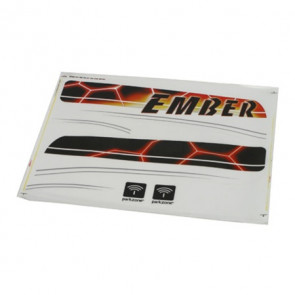 PARKZONE Decal Sheet, Ember