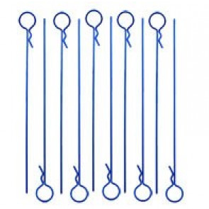 RC ONE LONG BLUE BODY PINS (10)