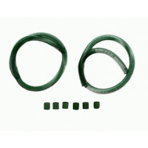 RC ONE GREEN COILED FUEL LINE GUARD