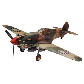Revell 1/48 P-40B Tiger Shark Model Kit