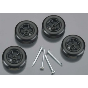 Revell Official Boy Scout Wheel & Axle Set Black