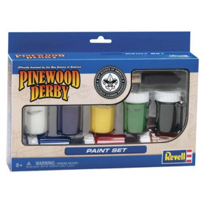 Revell Paint & Brush Set