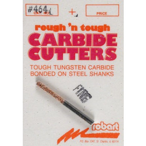 "Robart 464F Carbide Cutter 1/8"" Rod Fine"