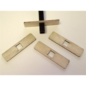 RADICAL RC Slow Stick Straight Double Mounting Tabs Kit