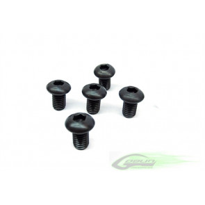 Goblin 630/700 12.9 Button Head Socket Cap M4x6 (5pcs)