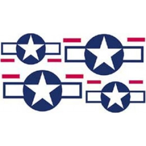 SIG STARS & BARS DECALS 4IN