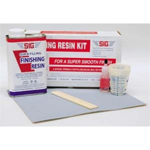 SIG FINISHING RESIN KIT