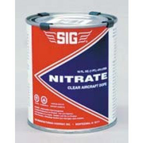 SIG NITRATE CLEAR DOPE QUART