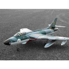 SHULMAN AVIATION RC LANDER HAWKER HUNTER PNP, SWISS AIR FORCE COLORS