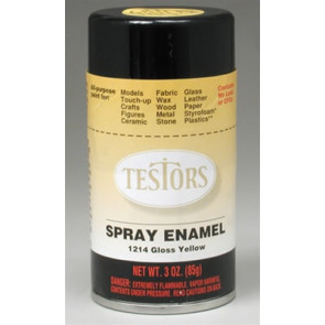 Testors Spray Yellow 3 oz.