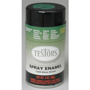 Testors Spray Green 3 oz