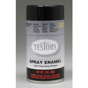 Testors Spray Primer Semi-Gloss 3 oz