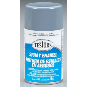 Testors Spray Gray 3 oz