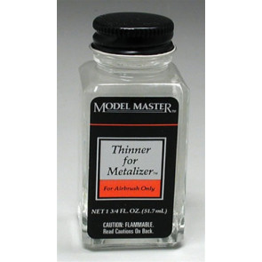Testors Model Master Metalizer Thinner 1-3/4 oz