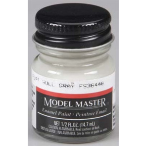 Testors Model Master Flat Gull Gray 36440 1/2 oz