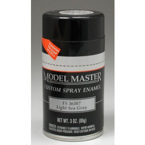 Testors Model Master Spray Light Sea Gray 36307 3 oz
