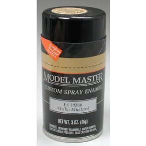 Testors Model Master Spray Afrika Mustard 30266 3 oz