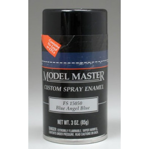 Testors Model Master Spray Blue Angel Blue 15050 3 oz