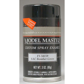 Testors Model Master Spray SAC Bomber Green 34159 3 oz