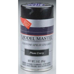 Testors Model Master Spray Plum Crazy 3 oz