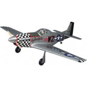 Top Flite Giant P-51D Mustang ARF 2.1-2.8,84.5""