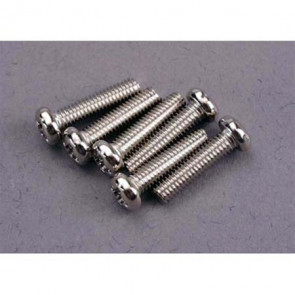 Traxxas Screws 3x12mm Roundhead Machine (6)